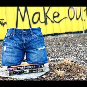 Joe's Jeans Vintage Reserve Denim Shorts 27